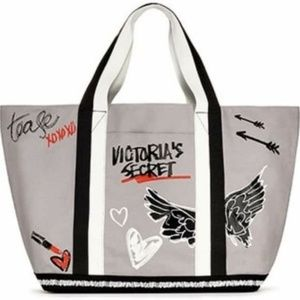 new VICTORIA SECRET Angel Wing TOTE BAG WEEKENDER